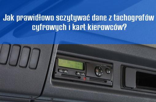 jak sczytywać dane z tachografu