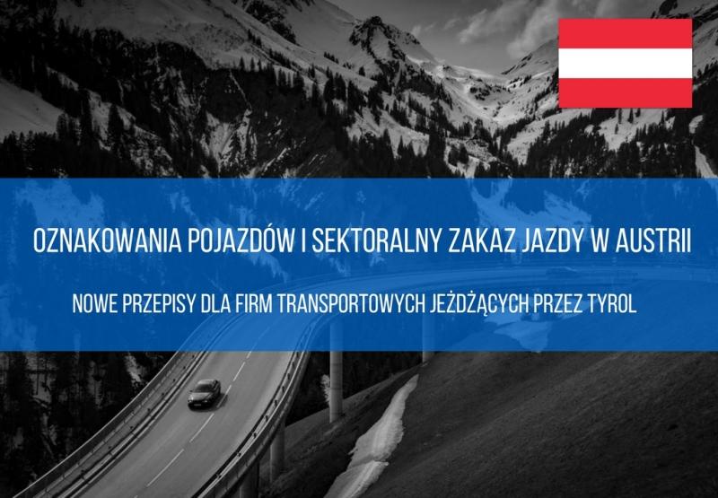 zakaz jazdy w Austrii