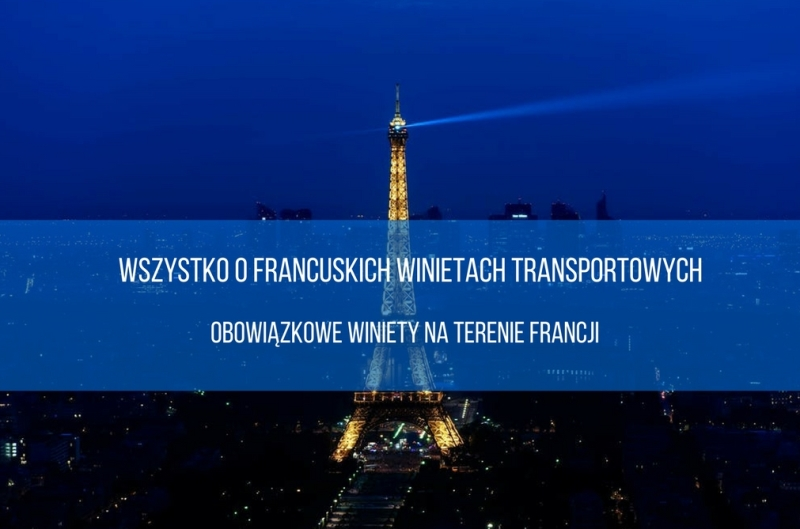 Winiety transportowe Francja