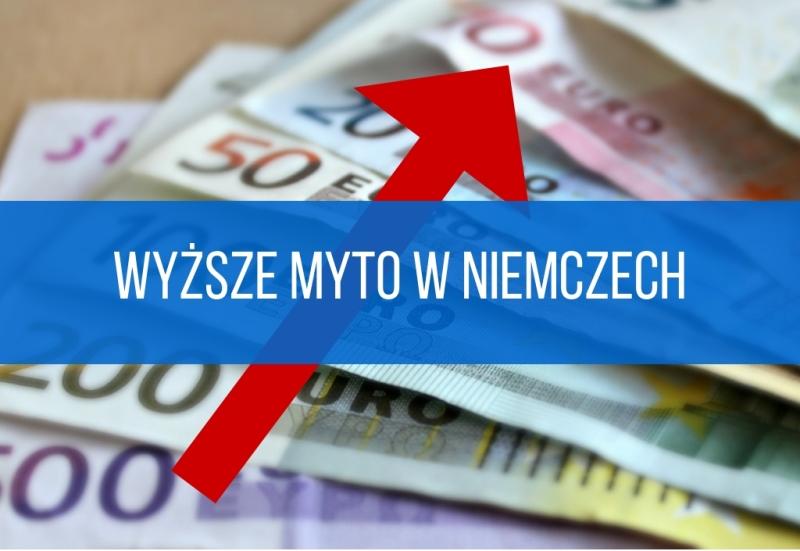 Podwyżka opłat za przejazd po drogach w Niemczech od 1 stycznia 2019 r.